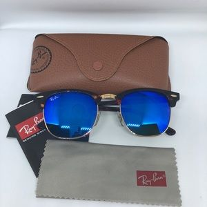Ray-ban clubmaster blue 51mm